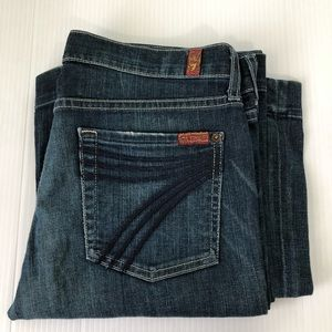 7 for all mankind Dojo Jeans, 28 x 33.75